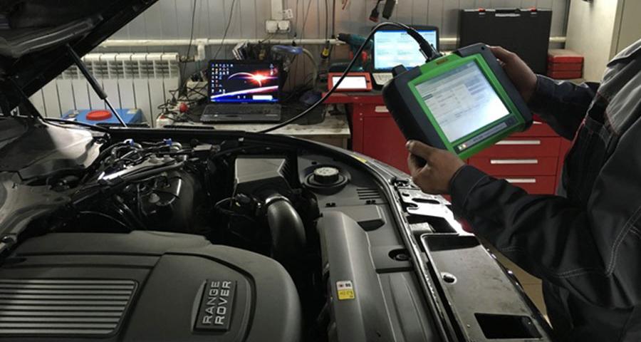 Диагностика двигателя мотор-тестером
